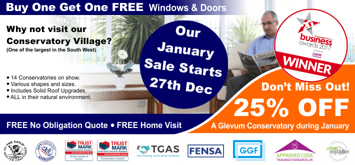January Sales Conservatory Offer