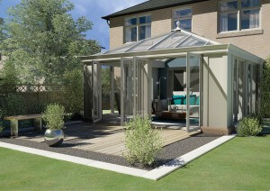 Loggia style conservatory