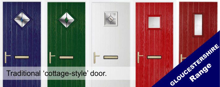 The Gloucestershire range of Compsite Door