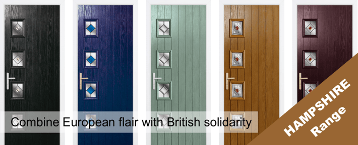 The Hampshire Range of Composite Door