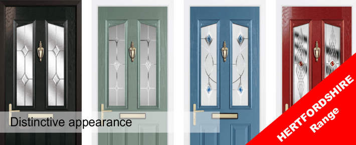 The Hertfordshire Range of Composite Door