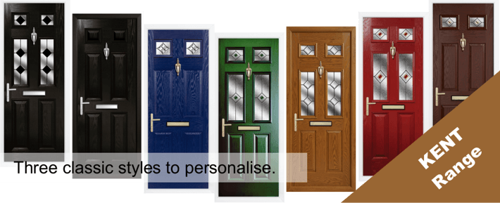 The Kent Range of Composite Door