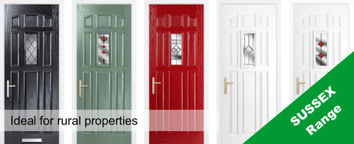 The Sussez Range of Composite Door