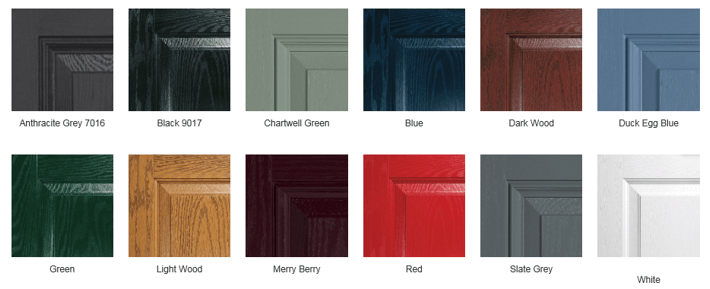 Composite Door Colour Options