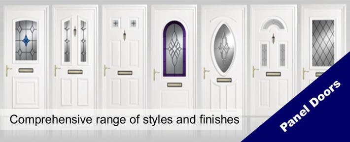 uPVC Panel Doors
