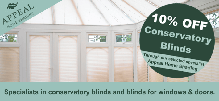Conservatory Blind Offers