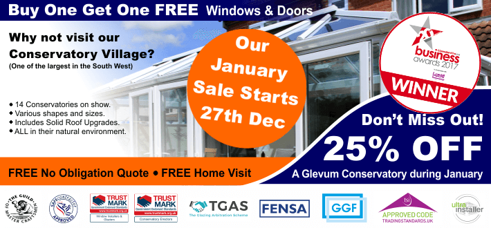 January Sale Conservatories