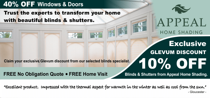 Windows and Conservatory Blinds and Shutters