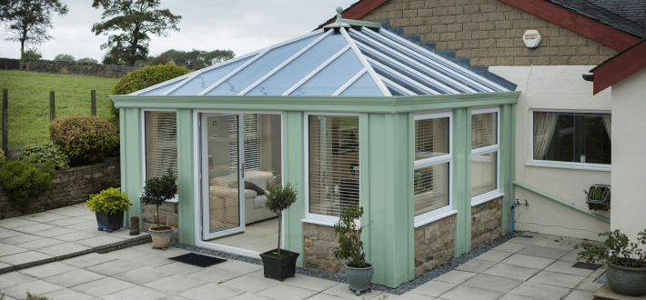 Loggia - a modern twist on the traditional orangery design