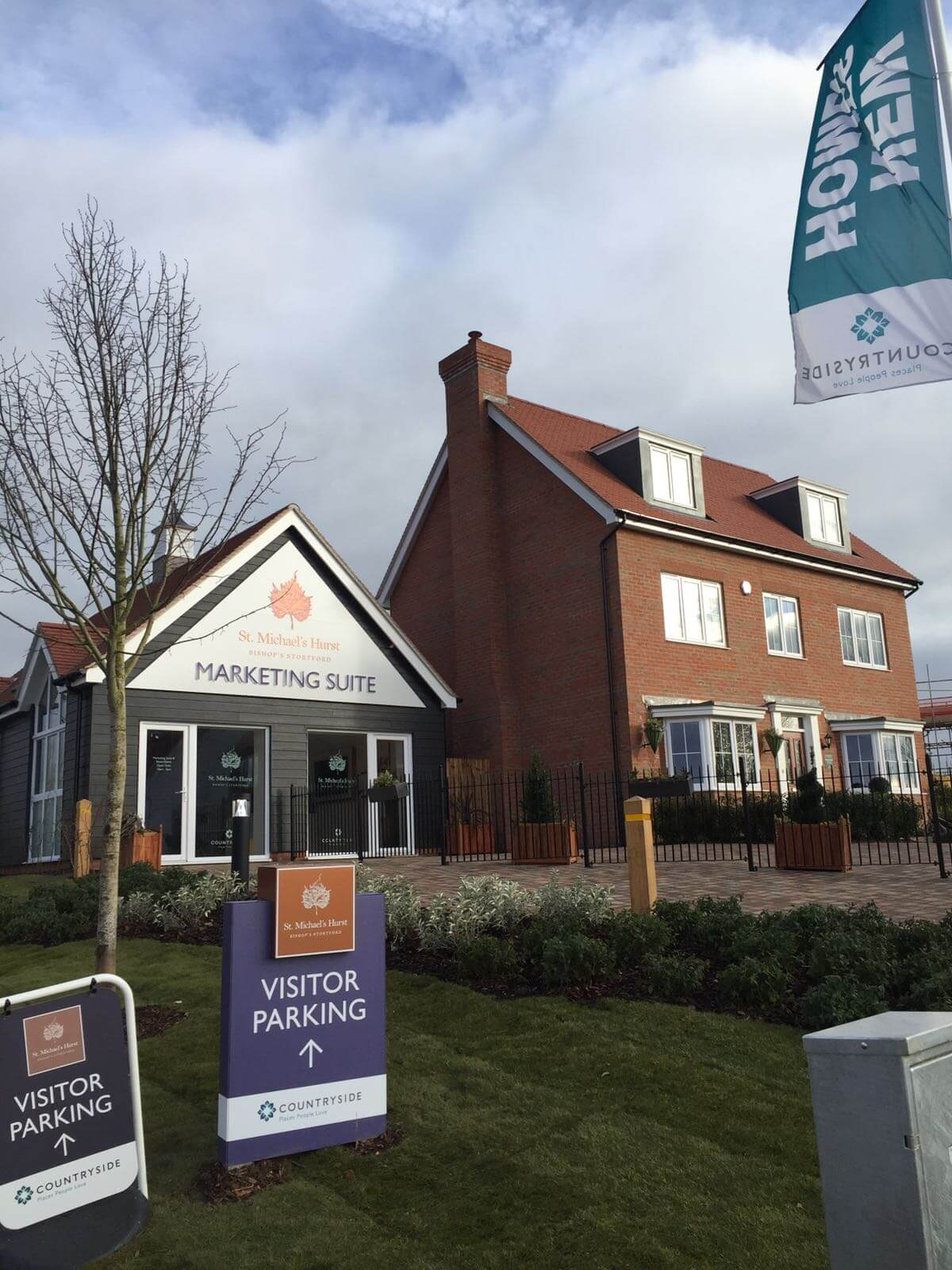 New Build development by Countryside Properties
