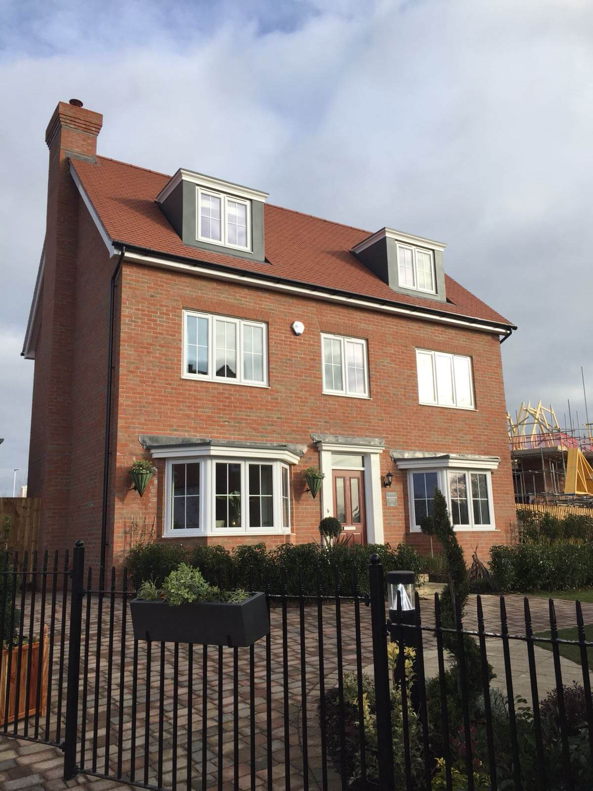 Glevum are installing windows and doors for Countryside Properties St. Michael's Hurst development
